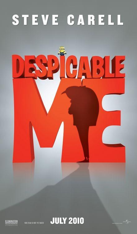 Terzo teaser poster per Despicable Me