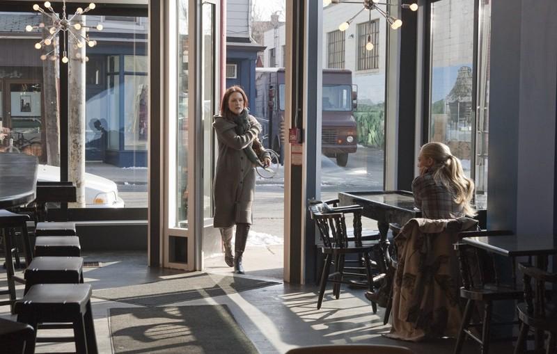 Una sequenza del film Chloe con Julianne Moore e Amanda Seyfried