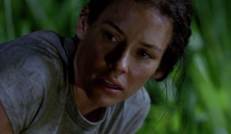 Evangeline Lilly in una scena di LAX: Part 1 dalla sesta stagione di Lost