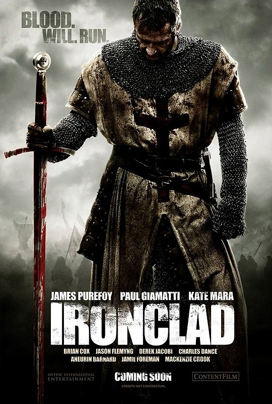 La locandina di Ironclad