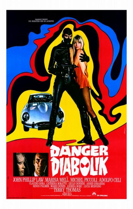Locandina del film Diabolik ( 1968 )