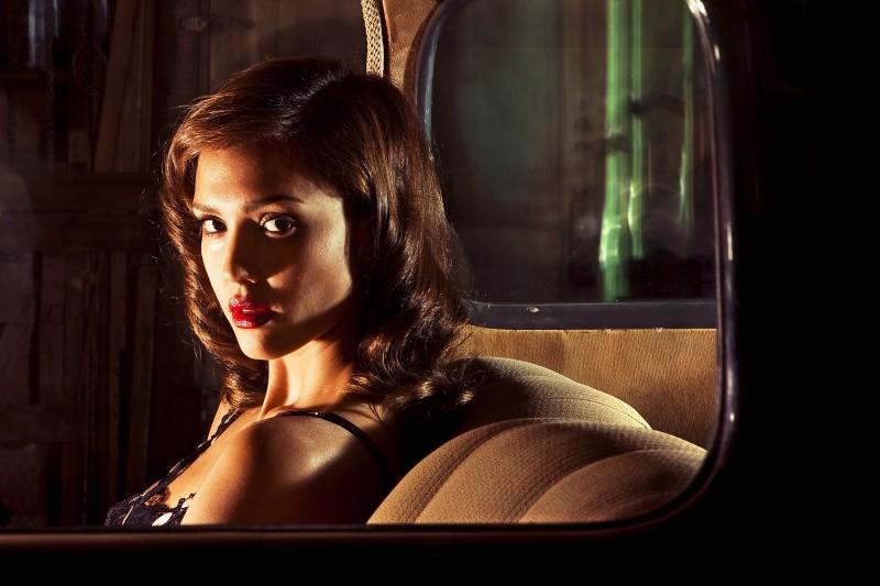 Jessica Alba in una scena di The Killer Inside Me, discusso film di Michael Winterbottom