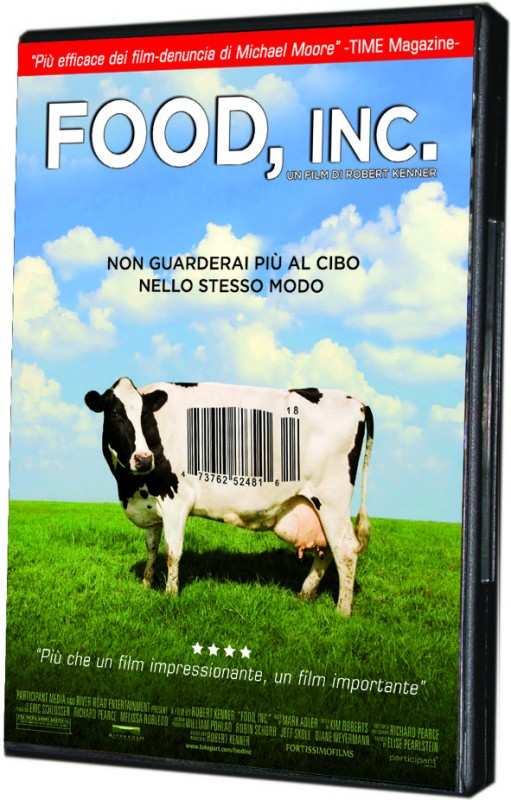 La copertina di Food, Inc. (dvd)