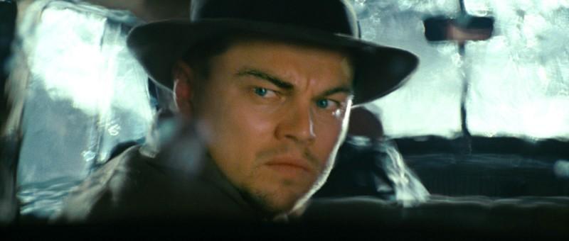 Leonardo DiCaprio in una scena di Shutter Island