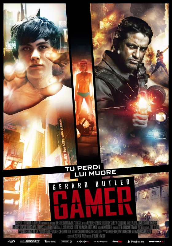 Locandina italiana di Gamer