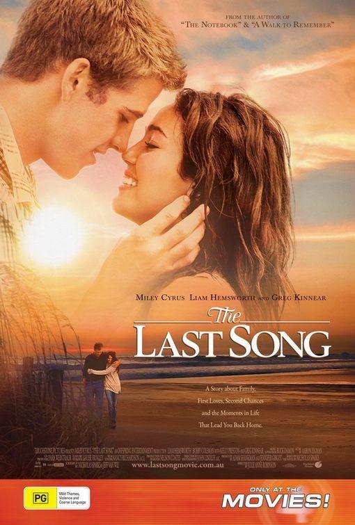 Poster australiano per The Last Song
