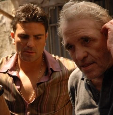 Salvatore Ruocco insieme ad Abel Ferrara sul set di Napoli Napoli Napoli