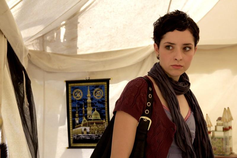 Zrinka Cvitesic in una scena del film On the Path