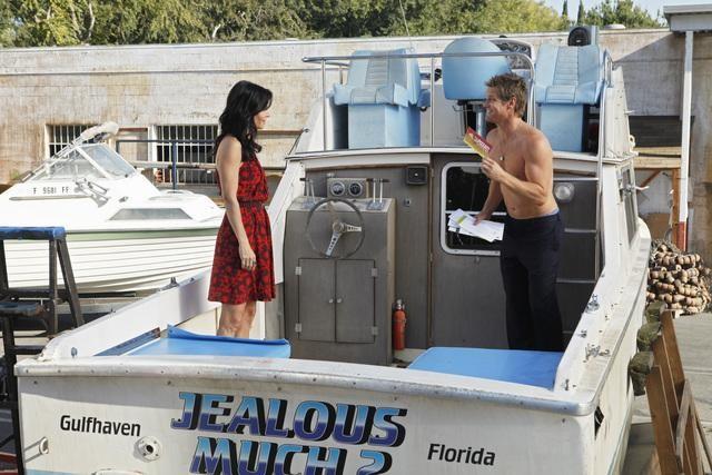 Cougar Town: Courteney Cox e Brian Van Holt nell'episodio Rhino Skin