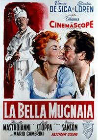 La copertina di La bella mugnaia (dvd)