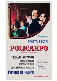 La copertina di Policarpo, ufficiale di scrittura (dvd)
