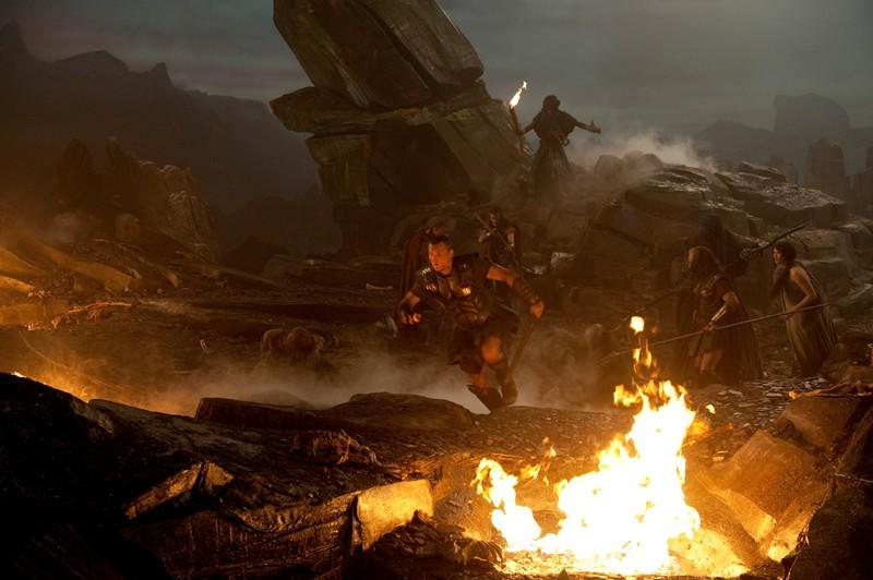 Una sequenza del film di Louis Leterrier: Clash of the Titans