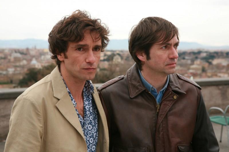 Ignazio Oliva e Francesco Apolloni in una scena di Scusa ma ti voglio sposare