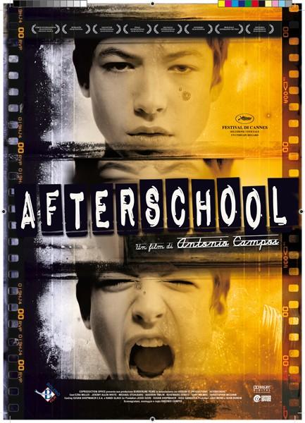 La locandina italiana di Afterschool