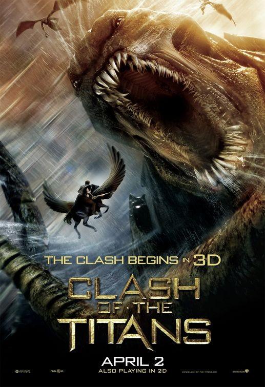 Nuovo poster USA per Clash of the Titans
