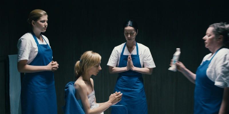 Sylvie Testud in una scena del film Lourdes