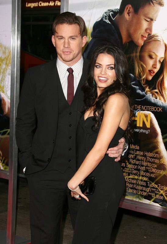 Channing Tatum con la sua ragazza: Jenna Dewan alla premiere del film Dear John a Los Angeles, l'1 Febbraio 2010