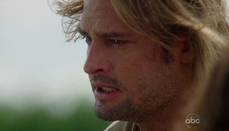 Josh Holloway in una scena tratta da What Kate Does dalla sesta stagione di Lost
