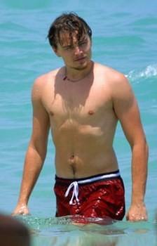 Leonardo DiCaprio al mare