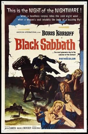 Locandina a colori del film I tre volti della paura ( 1963 )