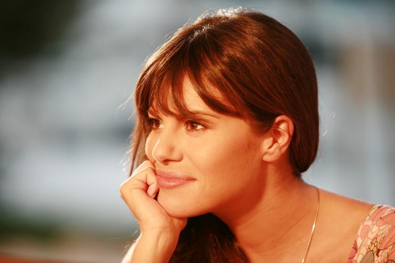 Bianca Guaccero in un'immagine della fiction Capri 3
