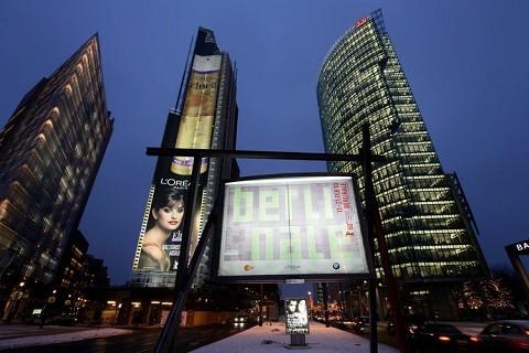 Berlinale 2010: un'immagine della capitale tedesca nei giorni del Festival