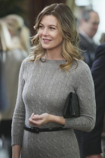 Ellen Pompeo in una scena di Valentine's Day Massacre dalla sesta stagione di Grey's Anatomy