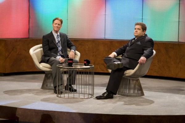 Eric Stoltz e Oswalt in una scena di Gravedancing dalla prima stagione di Caprica
