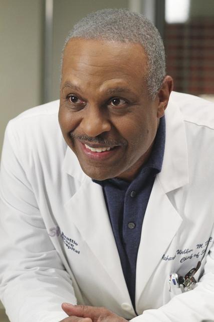James Pickens Jr. in una scena di The Time Warp dalla sesta stagione di Grey's Anatomy