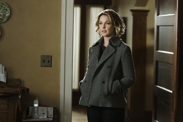Katherine Heigl in una scena di I Like You So Much Better When You're Naked dalla sesta stagione di Grey's Anatomy