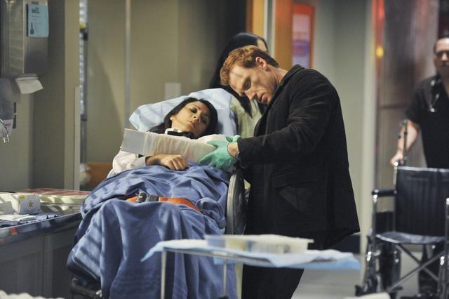Kevin McKidd in una scena di Valentine's Day Massacre dalla sesta stagione di Grey's Anatomy