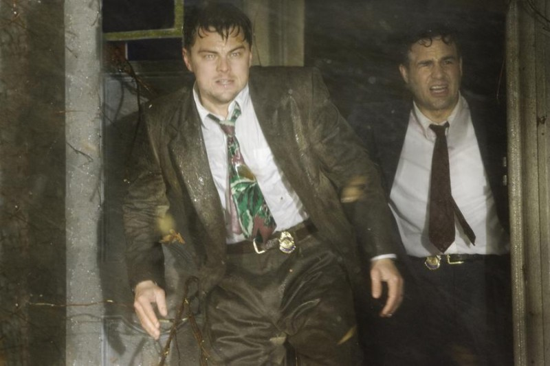 Leonardo DiCaprio e Mark Ruffalo in una scena del film Shutter Island
