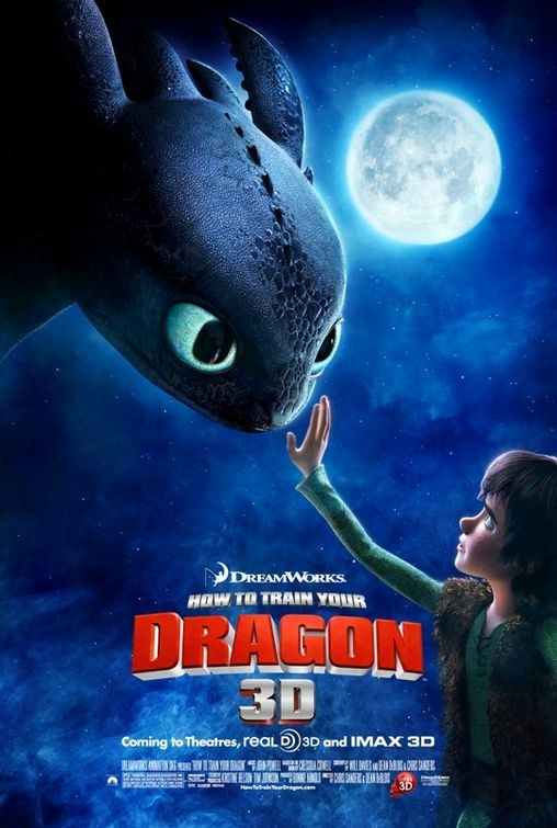 Nuovo poster per How to Train Your Dragon