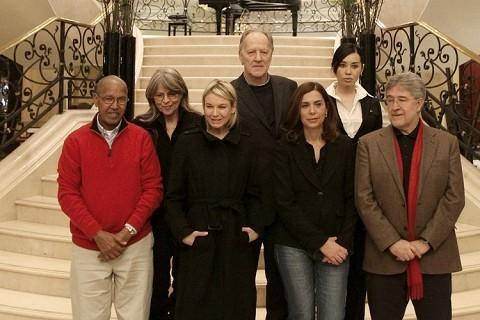 Werner Herzog e gli altri giurati della Berlinale 2010