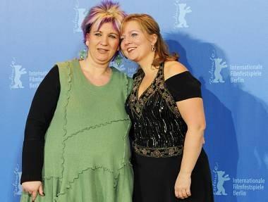 Berlinale 201: Gabriela Maria Schmeide con 'La parrucchiera' Kathleen Cieplik