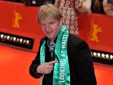 Berlinale 2010: Detlev Buck con una sciarpa pro-Haiti