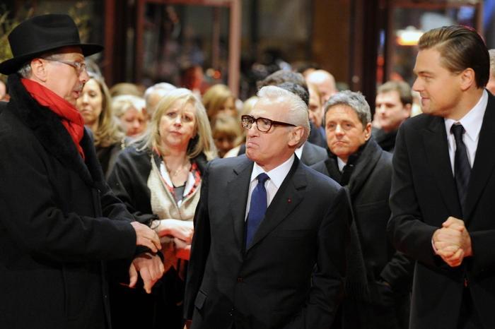 Berlinale 2010: Il cast di Shutter Island con Dieter Kosslick