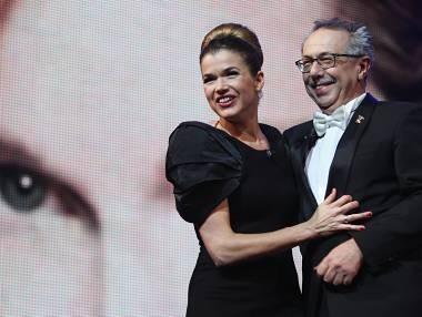 Berlino 2010: Anke Engelke con Dieter Kosslick