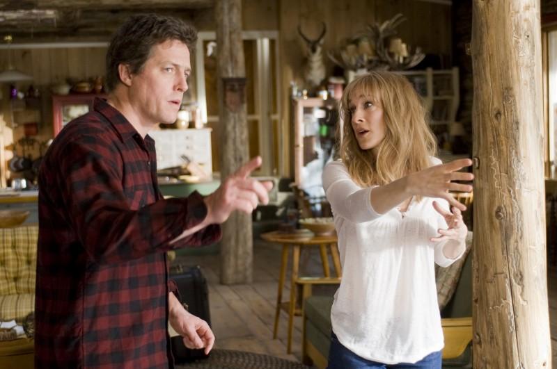 Hugh Grant e Sarah Jessica Parker in una scena della commedia Che fine hanno fatto i Morgan?