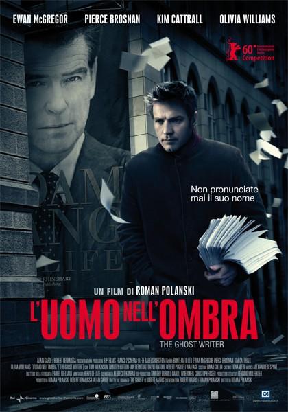 La locandina italiana di L'uomo nell'ombra