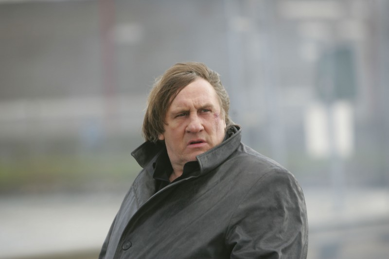 Gerard Depardieu in una sequenza del film Diamond 13