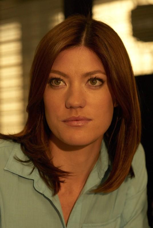 Un primo piano di Jennifer Carpenter nell'episodio Remains to be Seen di Dexter