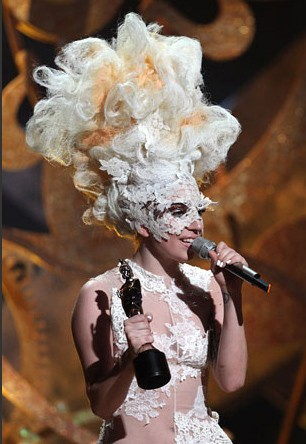Brit Awards 2010: Lady Gaga
