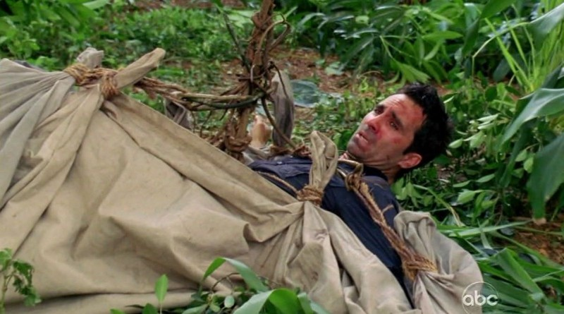 Nestor Carbonell in una scena di The Substitute dalla sesta stagione di Lost