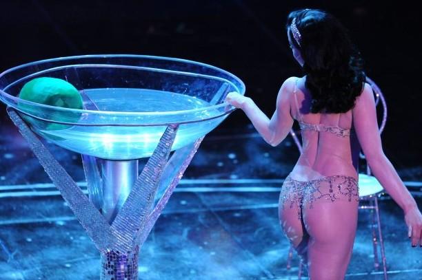 Sanremo 2010: la diva del burlesque Dita Von Teese