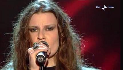 Sanremo 2010, seconda serata: Irene Fornaciari