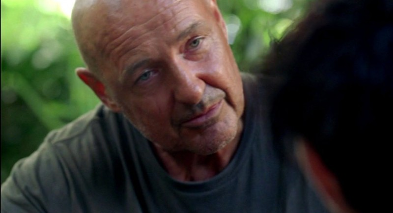 Terry O'Quinn in una scena di The Substitute tratta dalla sesta stagione di Lost