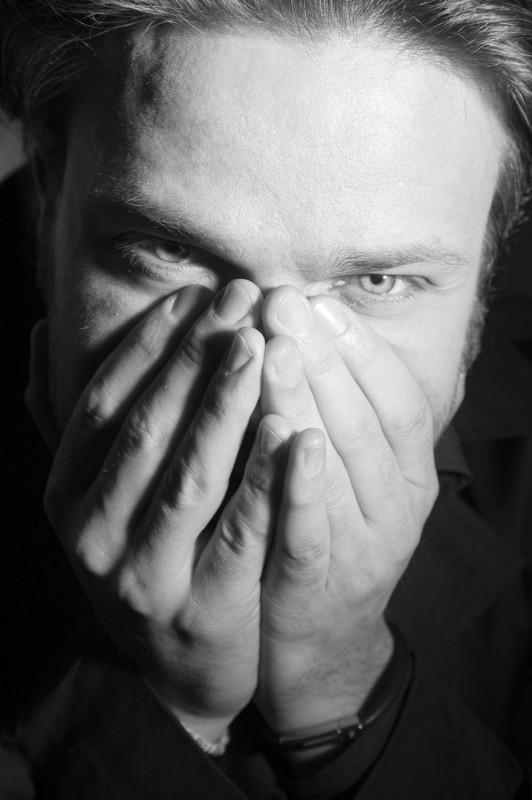 Una nuova immagine dell\'attore Barbato De Stefano.