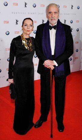Berlinale 2010: Christopher Lee e sua moglie Birgit