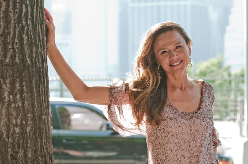 Lena Olin sul set del film Remember Me